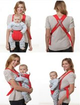 Baby Carrier - Draagzak - Rood