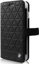 Originele BMW Lederen cover zwart geblokt voor iPhone 6/6S Plus / 7 Plus / 8 Plus