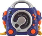 Bigben Karaoke CD Speler - Blauw