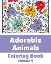 Adorable Animals Coloring Book