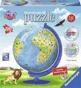 Ravensburger XXL Kinder globe Engels - 3D Puzzel - 180 stukjes