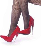 Devious Hoge hakken -37 Shoes- SCREAM-01 Rood