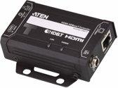 Aten VE811T audio/video extender AV transmitter Zwart