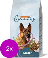 Fokker country match hondenvoer 2x 15 kg