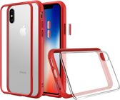 Rhinoshield MOD NX Crash Guard Bumper Red Apple iPhone X
