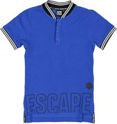 Crush Jongens T-shirt Crush Hagen - blauw - Maat 140