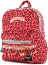 Rugzak Shoesme luipaard roze