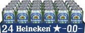 Heineken 0.0 Voordeelverpakking - 24 stuks - 33 cl