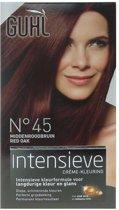 Guhl Intensieve - No. 45 Midden-Roodbruin- Crème-kleuring - Haarverf