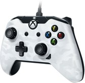 PDP controller - Official Licensed - Xbox One + Windows 10 - Wit Camo