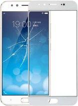 Let op type!! Voorste scherm buitenste glaslens voor Vivo X9 Plus(White)