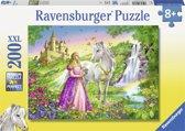 Ravensburger XXL puzzel prinses met paard 200 stukjes