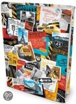 Travel - Rekbare Boekenkaft - A4