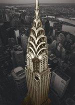 New York - Chrysler Building  - Poster 100 x 140 cm