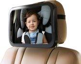 Achterbank spiegel voor Baby & Kind - A3 Achterbank spiegel Verstelbare baby monitor - baby check hoofdsteun spiegel voor in auto - Baby on board