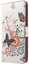 Book Case Hoesje Samsung J5 (2016) - Vlinders