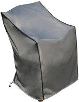 Beschermhoes Stoel - SORARA - Grijs - 75 x 78 x 65/110 cm (L x B x H) - waterafstotend - Polyester & PU Coating (UV 50+)- Voor Tuin, Terras, Patio - Hoogwaardige Kwaliteit Cover / Afdekhoes
