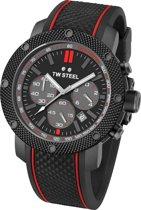 TW Steel Grandeur Tech Mick Doohan TS6 Heren Horloge Zwart 48mm Chrono