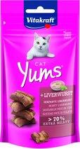 Vitakraft Cat Yums - Leverworst - 40 g