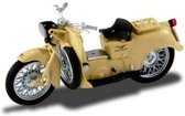 Moto Guzzi Galletto 192 1:24 Starline Models Beige 990042