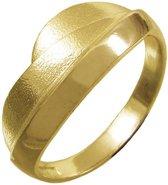 De heuvels. Gouden ring 21mm