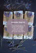 Lavender decoratie set | zeep maken