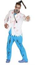 Zombie Kostuum   Dokter Bloed Zombie   Man   Maat 52-54   Halloween   Verkleedkleding