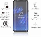 Glass 3D screenprotector voor de Samsung Galaxy S9plus