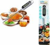 Digitale Thermometer voor Keuken \Koken, Melk, Vlees, BBQ, Water, Thee \Voor Binnen en Buiten