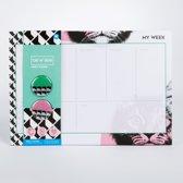 Assorti Desktop Weekplanner 52