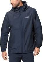 Jack Wolfskin Stormy Point Jacket M Jas Heren - Night Blue