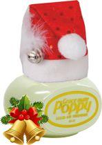 Poppy Luchtverfrisser Jasmijn met kerstmuts - Poppy Grace Mate - Poppy - Poppy Luchtverfrisser - Kerstmuts met Poppy - Originele kerstmuts - Vrachtwagen Accessoires - Luchtverfrisser Huis - Wonen - Boot - WC