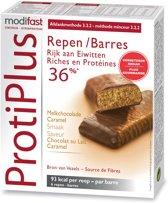 Modifast ProtiPlus Reep Karamel - 6 stuks