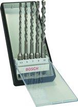 Bosch - 5-delige Robust Line hamerborenset SDS-plus-7 5,5; 6; 7; 8; 10 mm