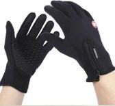 Waterafstotend & Windproof Thermische Touchscreen Handschoenen I  7-7.5cm handpalm breedte I Zwart I Maat M