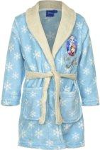 Frozen Anna/Elsa blauwe badjas maat 104 - Prinses Elsa/Anna