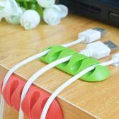 Zelfklevende Kabelclips - Siliconen - Voor 5 Snoeren