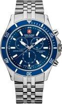 Swiss Military Hanowa 06-5183.7.04.003 horloge heren - zilver - edelstaal