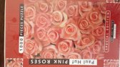 1000 Pieces Puzzle - Paul Huf, Pink Roses - Art Unlimited puzzle # 01