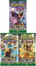 Pokemon 3 Booster Pakjes XY Fates Collide