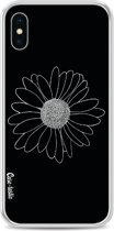 Casetastic Softcover Apple iPhone X / XS - Daisy Black