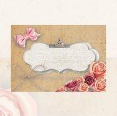 25 enveloppen Roses C6 formaat Envelop. Ook als mix verkrijgbaar
