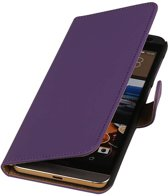 HTC One M9 Plus Paars | bookstyle / book case/ wallet case Hoes  | WN™