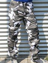 Urban camouflage afritsbroek 3xl