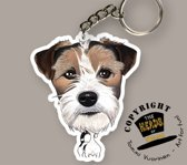 Sleutelhanger Hond Jack Russel Terrier