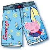 George Pig zwembroek - lichtblauw - maat 116/122