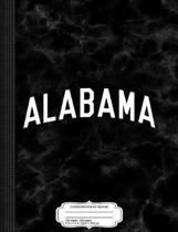 Alabama Composition Notebook