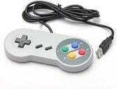 SNES | 1x Super Nintendo controller met USB aansluiting | 1 stuk | VeelTV ®