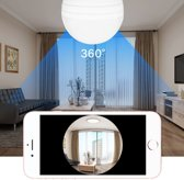 Spy camera (verborgen in lamp) voor iphone/android