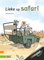 Kinderboeken AVI-E4: Lieke op safari. 10+
